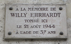 Photo of White plaque № 12395