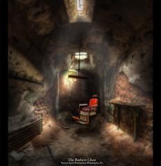 The Barbers Chair, Eastern State Penitentiary, Philadelphia, Pennsylvania