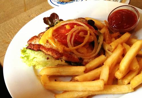 Haidhauser Burger - open