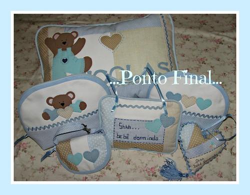 ...Kit para bebê... by Ponto Final - Patchwork
