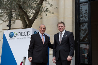 Official visit of Róbert Fico, Prime Minister of the Slovak Republic to the OECD