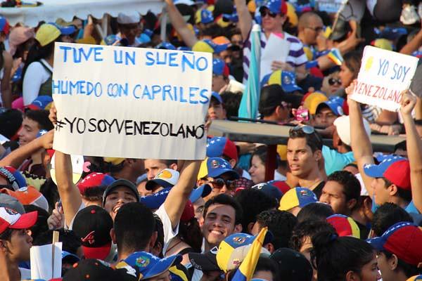 Capriles Radnski en Maracaibo