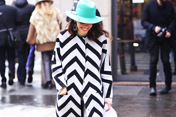 NobodyKnowsMarc.com Gianluca Senese giorgia tal milan fashion week street style stripes