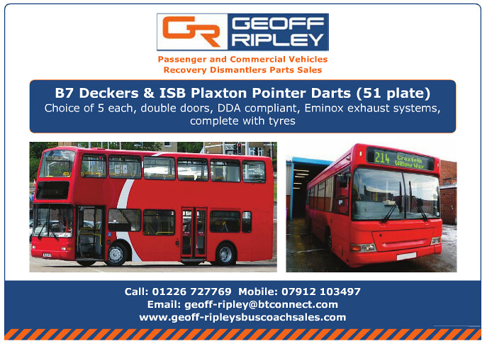 Coach   Bus Week   Vehicles for Sale   Issue 1082