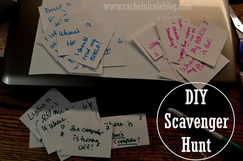 Let's DIY Scavenger Hunt