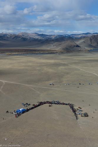 people asia aerial mongolia olgii bayanolgii westernmongolia goldeneaglefestival