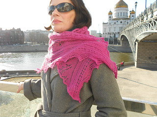 Snowdrop shawl by Stephanie Pearl-McPhee lovely