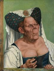 Una Anciana Grotesca