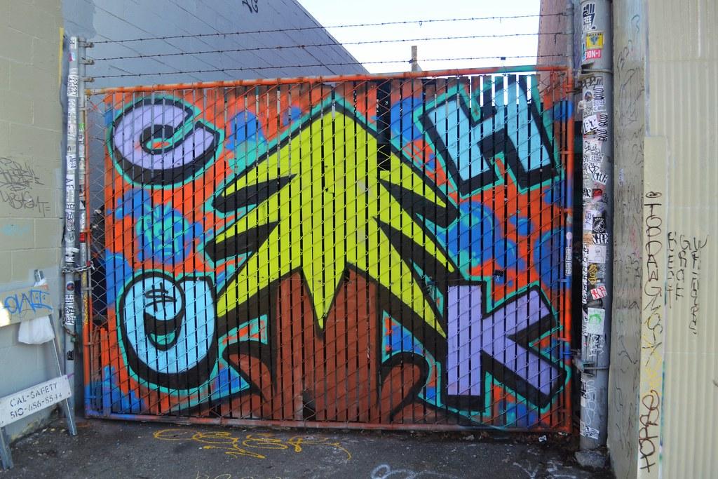 CHEK, PLANTREES, Graffiti, Street Art, Oakland, DE, POP, BMB,