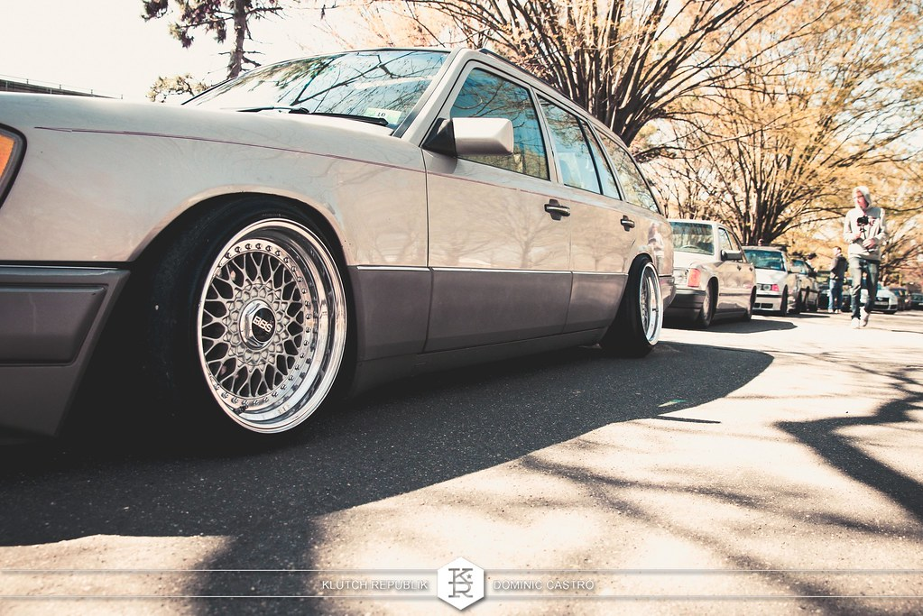 mercedes 190 wagon bbs rs at shrinkallthecars meet 2013 shrink all the cars FDR park - slammed dropped dumped bagged static coilovers hella flush stanced stance fitment low lowered lowest camber wheels tucked 16s 17s 18s 19s 20s 3piece 1 piece custom airbags scene scenester