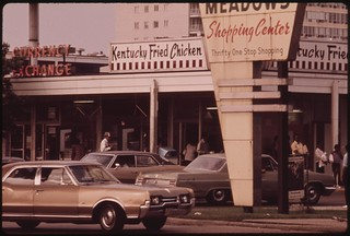 Lake Meadows Shopping Center On Chicago's South Side Which Is Frequented By Blacks, 06/1973