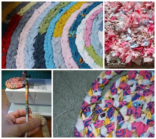4m3b Fabric Rugs