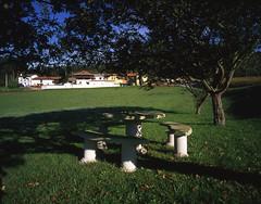 Vista Gral. desde zona descanso. Casa Rural Capilla San Clemente