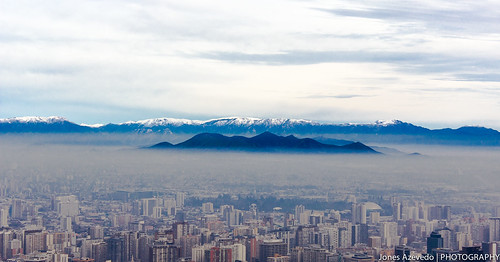 "Santiago Chile from the book ""I confess, I have lived 
