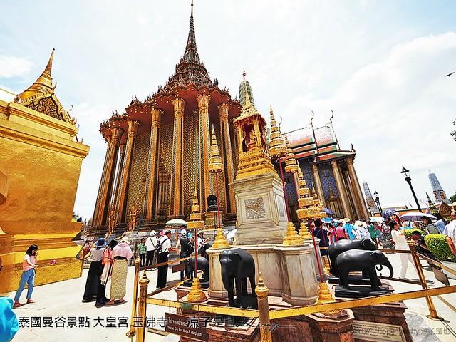 泰國曼谷景點 大皇宮 玉佛寺  73