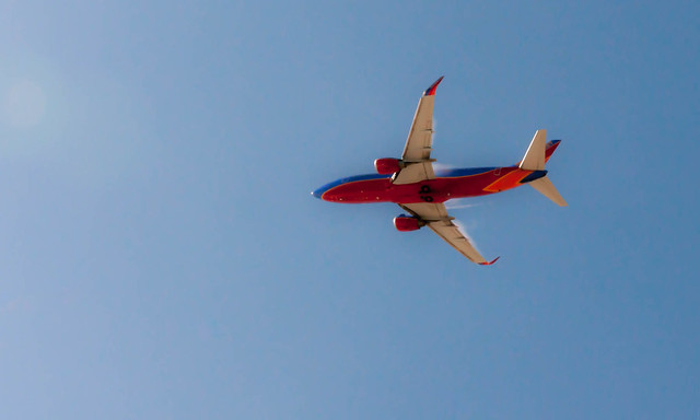 Southwest Airlines Boeing 737-800 departing LAX