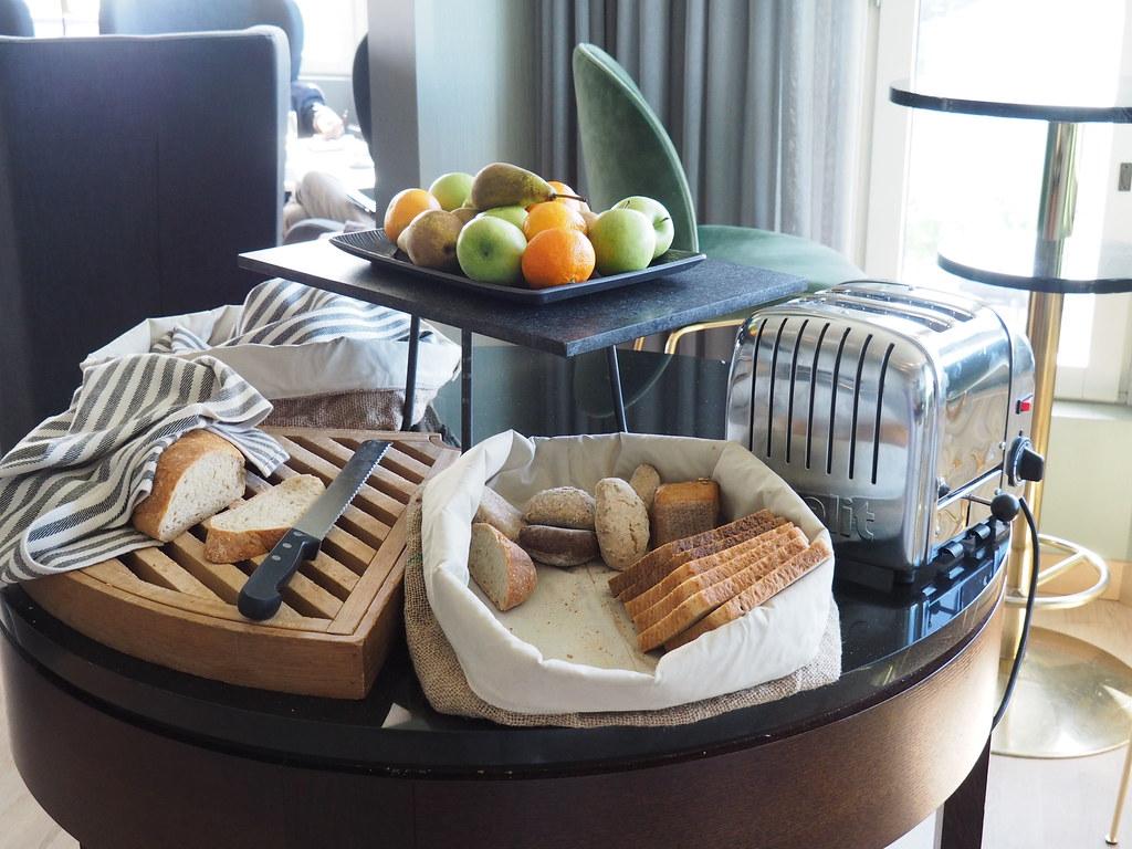 ヒルトン・ヘルシンキ・ストランドの朝食パン