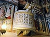 """Pulpit (half 13th century) - Upper church of monastery of """"Sacro Speco"""" (=Holy cave) of Saint Benedict - Subiaco (Rome)"""