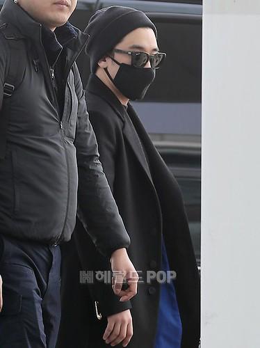 Big Bang - Incheon Airport - 21mar2015 - Seung Ri - Herald Corp - 01