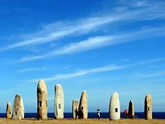 5224-Menhires del Parque escultorico de La Torre de Hercules