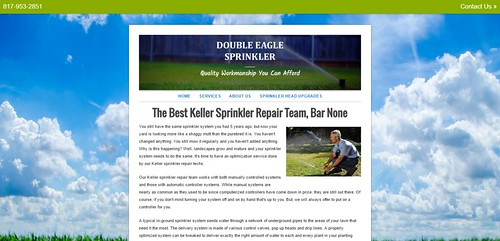 Keller Sprinkler Repair