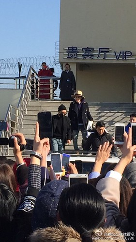 Big Bang - Harbin Airport - 21mar2015 - Seung Ri - 就这么继续着吧 - 01