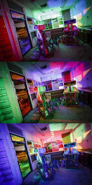 RGB Interior Triptych