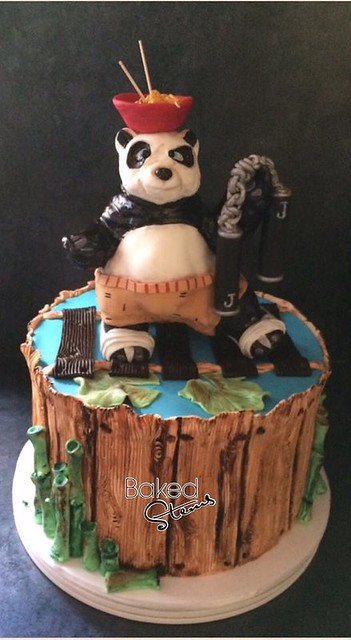 Kung Fu Panda Themed Cake by Sylv Naff of Baked stems