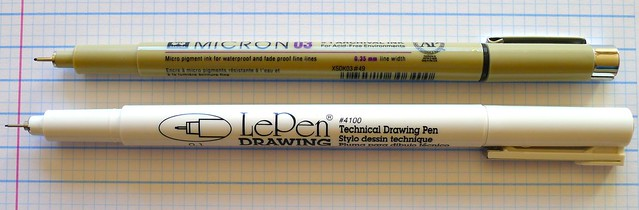 Marvy LePen Technical Drawing Pen