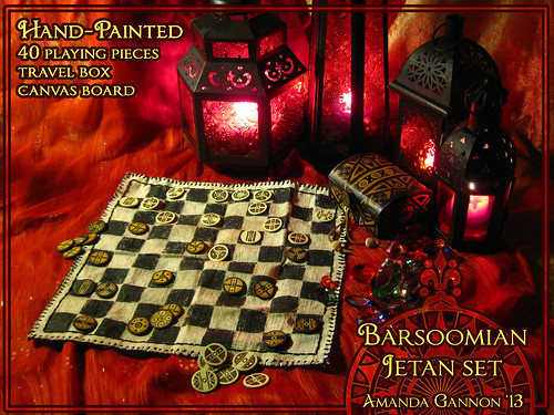 Jetan Set - Barsoomian Chess