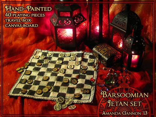 Jetan Set - Barsoomian Chess