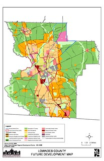 Greater Lowndes 2030 Comprehensive Plan: Lowndes County Future Development Map
