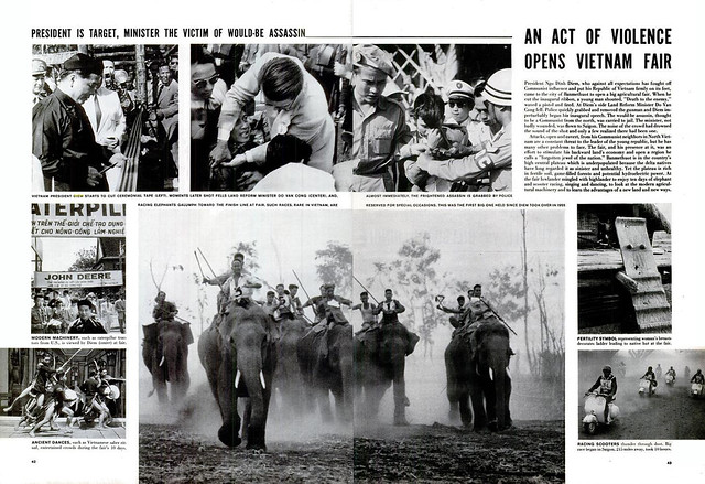 LIFE Magazine 11 Tháng Ba 1957 - AN ACT OF VIOLENCE OPENS VIETNAM FAIRnce opens Vietnam Fair