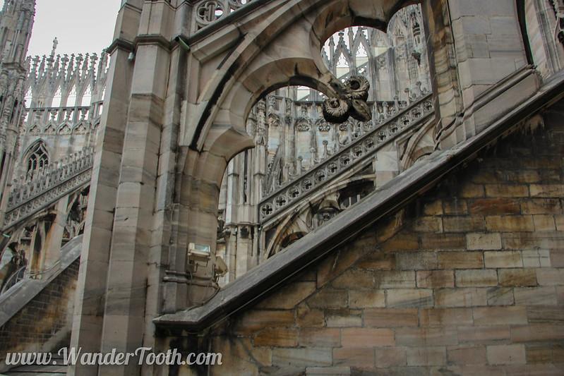 Roof of Milan Duomo