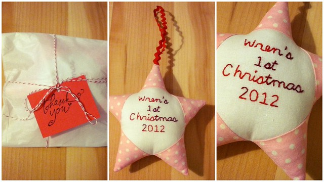 Wren's First Ornament