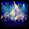 Week 6: A very small Paloma Faith on stage at the Motorpoint Arena, 9/02/2013