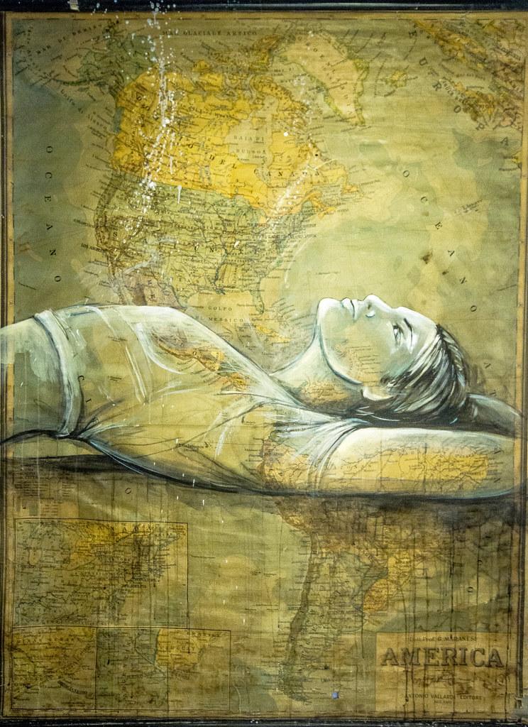 Alice Pasquini - 'Manifesting Destiny'