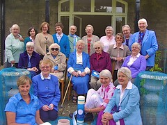 The 19 sisters of the English mission at the English Mission centenary celebrations in 2012