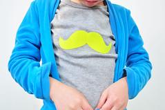 neon moustache