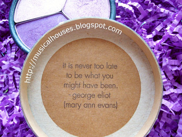 stila Seasonal Eye Shadow Trio Shimmer Shadows 2005 Cool quote