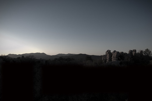 Twilight in the Cevennes