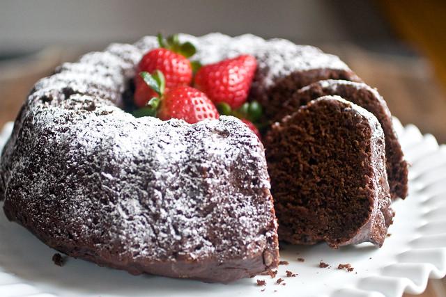 Cake Recipes With Icing Sugar: Chocolate Yogurt Bundt Cake