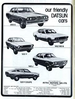 Guide to Lagos 1975 049 datsun cars crop