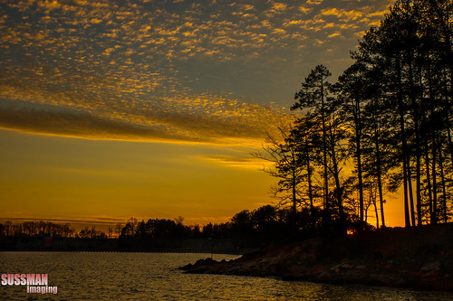 sunset sky lake water silhouette clouds river georgia dam lakelanier gwinnettcounty chattahoocheeriver forsythcounty buforddam thesussman sonyalphadslra550 sussmanimaging