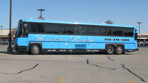 Executive Coaches motorcoach bus.  River Grove Illinois.  September 2012. by Eddie from Chicago