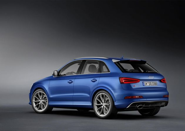 Audi RS Q3 officially unveiled