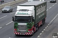 Scania R420 6x2 Tractor - PN11 WTC - Cathrine Ann - Eddie Stobart - M1 J10 Luton - Steven Gray - IMG_2453
