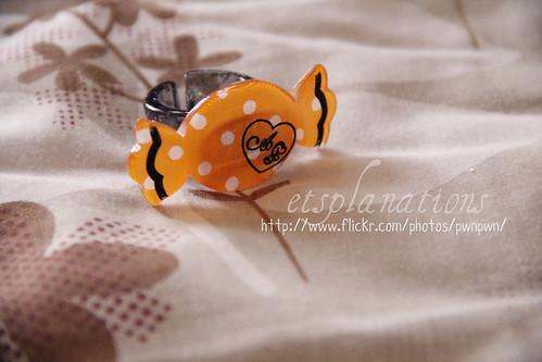 AP Halloween Ring