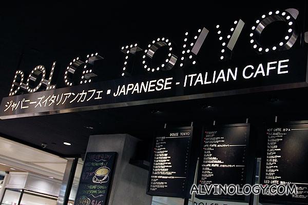 Dolce Tokyo cafe