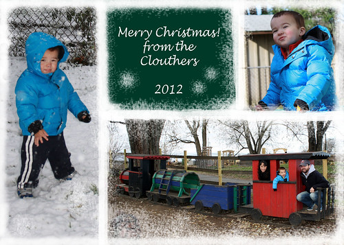 2012 12 Christmas Card- Clouther